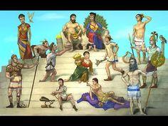 Spiksplinternieuw De 8 beste afbeeldingen van Tijd van Grieken en Romeinen QO-02