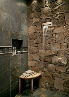 Go Au Naturel in the Bath With Beautiful Stone | Jackson ...