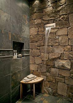 Go Au Naturel in the Bath With Beautiful Stone | Jackson ...