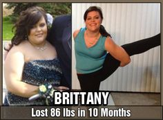 Inspirational Stories - Brittany - DDP Yoga Results