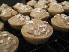 April: National Pet Month   Peanut Butter & Banana Pupcakes (Dog Treats): Spoil your favorite pooch!