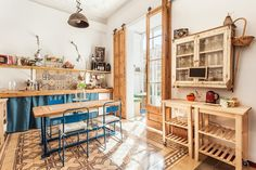 Kitchen in a Barcelona apartment