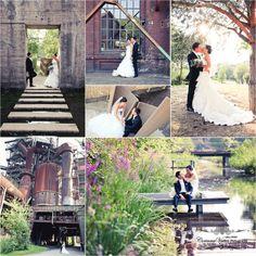 Tolle Location für Hochzeitsfotos und Engagement Shooting im Landschaftspark Duisburg Nord. Fotos von www.hochzeitsfotografie-duisburg.de