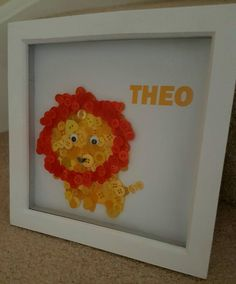 Check out this item in my Etsy shop https://www.etsy.com/uk/listing/452788422/lion-button-art-lion-frame-lion-decor