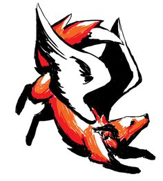 Love this fox tattoo