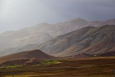 Impending thunderstorm: Southern Morroco