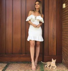 "746 Likes, 17 Comments - Strass_Oficial (@strass_oficial) on Instagram: ""Shining Girl. Deslumbrante @crisvallias com look do nosso #summer18. """