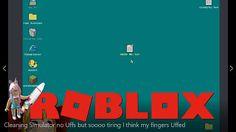 Roblox Cleaning Simulator Gameplay - no Uffs but soooo tiring I think my fingers Uffed