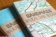 Handmade Nautical Chart Notebooks