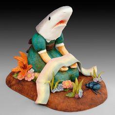 casey riordan millard :: shark girl with dead rainbow (2008)
