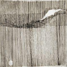 Gego, Sin título, 1963, Prueba de Artista, Intaglio sobre papel, 12 x 12 pulgadas tamaño de la placa