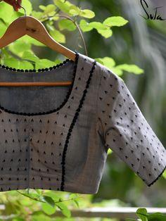 Cotton Saree Blouse Designs, Kids Blouse Designs, Simple Blouse Designs, Stylish Blouse Design, Traditional Blouse Designs, Long Dress Design, Designer Blouse Patterns, Neck Design, Blouse Styles