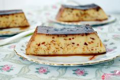 flan de nata al micro - mayte's sweet