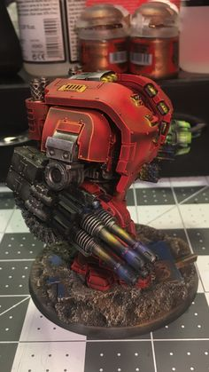 Blood Angels Leviathan W/ Storm cannon WIP