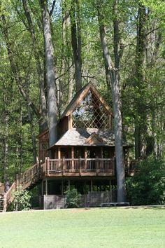Longwood Gardens tree house / The Green Life <3
