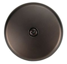 One-hole Face Plate, for Waste and Overflow, Oil Rubbed Bronze Finish - Plumb USA Tub Faucet, Sink, 3 Face, Black Oil, Bathroom Fixtures, Bronze Finish, Oil Rubbed Bronze, Kitchen And Bath, Home Depot