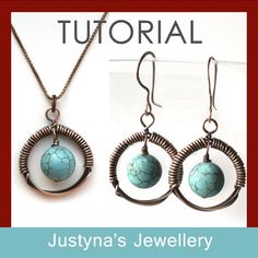 Turquoise Earrings And Pendant | JewelryLessons.com