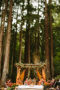 So unique and interesting! Rustic Indian wedding