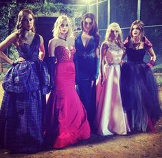 Loved the dresses. #BigAReveal