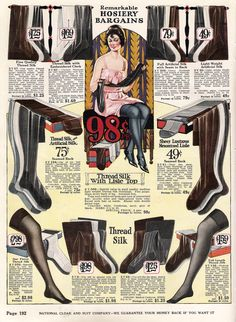 flapper stockings