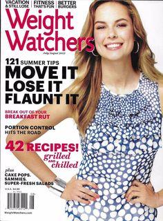 Weight Watchers magazine Summer tips Breakfast ideas Grilled chicken recipes