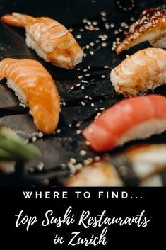 Eat Sushi, Best Places To Eat, Zurich, Shops, Yummy Food, Restaurant, Tents, Delicious Food, Retail