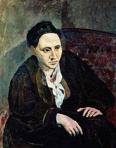 Original Vintage Pablo Picasso Print Portrait of
