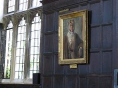 Portrait of T E Lawrence in Jesus College Oxford