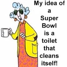 Gotta love that Maxine!  She thinks outside the box or bowl.