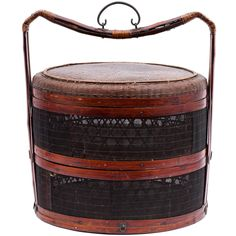 Chinese Lunch Basket | From a unique collection of antique and modern antiquities at http://www.1stdibs.com/furniture/asian-art-furniture/antiquities/
