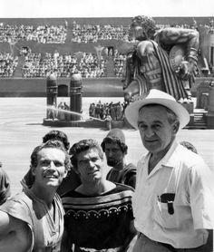 Ben-Hur won Best Picture, Best Director-William Wyler & Best Actor-Charlton Heston in 1959
