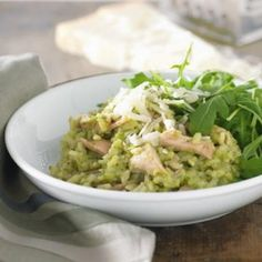 Pumpkin basil and pine nut risotto recipe risotto pine and chicken rocket and lemon risotto australian healthy food guide forumfinder Images