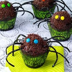 Spider Cupcakes Recipe from Taste of Home