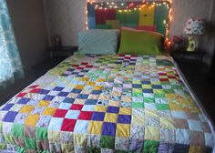 How to sew a quilt! (Quilting 101) by jessyratfink. This is the best guide to making a quilt when you are a beginner.