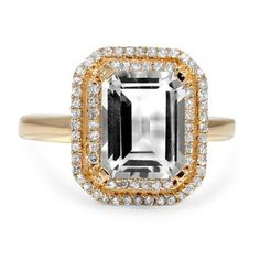 Forget everything I've said about wanting a diamond. I'm OBSESSED with this ring!!! I'll be happy with whatever I get, but cough cough Mikey ;)
