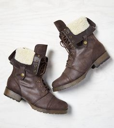 AEO Lined Pull-Down Boot