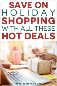 Save On Holiday Shopping With all These HOT Deals! Never miss a HOT deal during the holiday shopping season with deals coming directly to your inbox! Christmas Deals, Christmas On A Budget, Holiday Deals, Simple Christmas, Family Christmas, Christmas Shopping, Christmas Planning, Money Saving Mom, Get Free Stuff