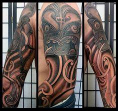 Maori:Japanese Tiki Arm