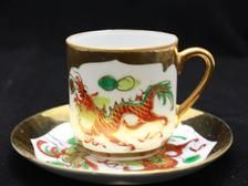 Petit cru Tea Cup Main Painted Dragon and rooster Vintage Coffee Cups, Vintage Teacups, Pinterest Gift Ideas, Dragons, Personalized Gifts, Handmade Gifts, Holiday Gifts, Gifts For Women, Rooster