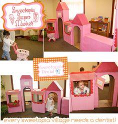 Sophia's Sweet Shoppe Birthday Party