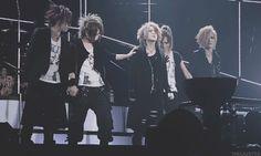 Aoi, Reita, Ruki, kai and Uruha. (the GazettE)