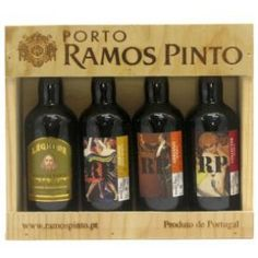 Miniatura Ramos Pinto Porto 4x9cl (caixa de madeira)