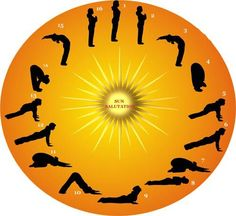 49 best sun salutation images  yoga yoga poses yoga
