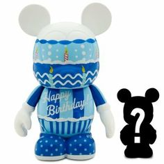 "Disney Celebrations Vinylmation 'Happy Birthday' - 3"" by Disney Theme Park Merchandise. $11.88. Features 'Happy Birthday'. 3'' H. Plastic. We have a colorful surprise in store with our Vinylmation Celebrations Series Figure. Vinylmation is the original 3"" vinyl collectible figure inspired by the Disney Theme Parks."