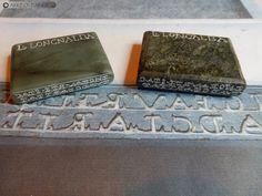Cachets d'oculistes en pierre tendre, réalisés pour le Musée d'Ath (Belgique). Money Clip, Belgium, Stone, Money Clips