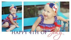 4th of July Romper/Headband set made by Danica's Chic Bowtique.  $20 plus shipping.
