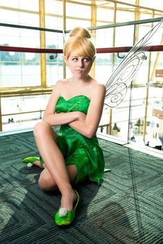 Slave tinkerbell copslayer maid of might cosplay photographer fiverings photography