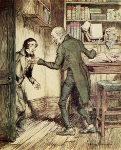 """""""Now, I'll tell you what, my friend,"""" said Scrooge. """"I am not going to stand this sort of thing any longer"""" - A Christmas Carol by Charles Dickens, 1915"""