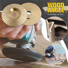 Piatto smerigliatrice angolare per la lavorazione del legno👇myalleshop Must Have Tools, Angle Grinder, Sandpaper, Woodworking Tools, Products, Tools, Shape, Tools For Working Wood, Gadget