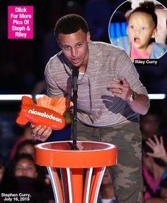 Riley Curry Kids Choice Sports Awards